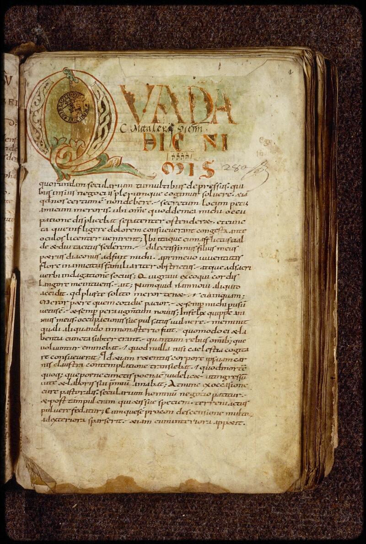 Lyon, Bibl. mun., ms. 1509, f. 002 - vue 2