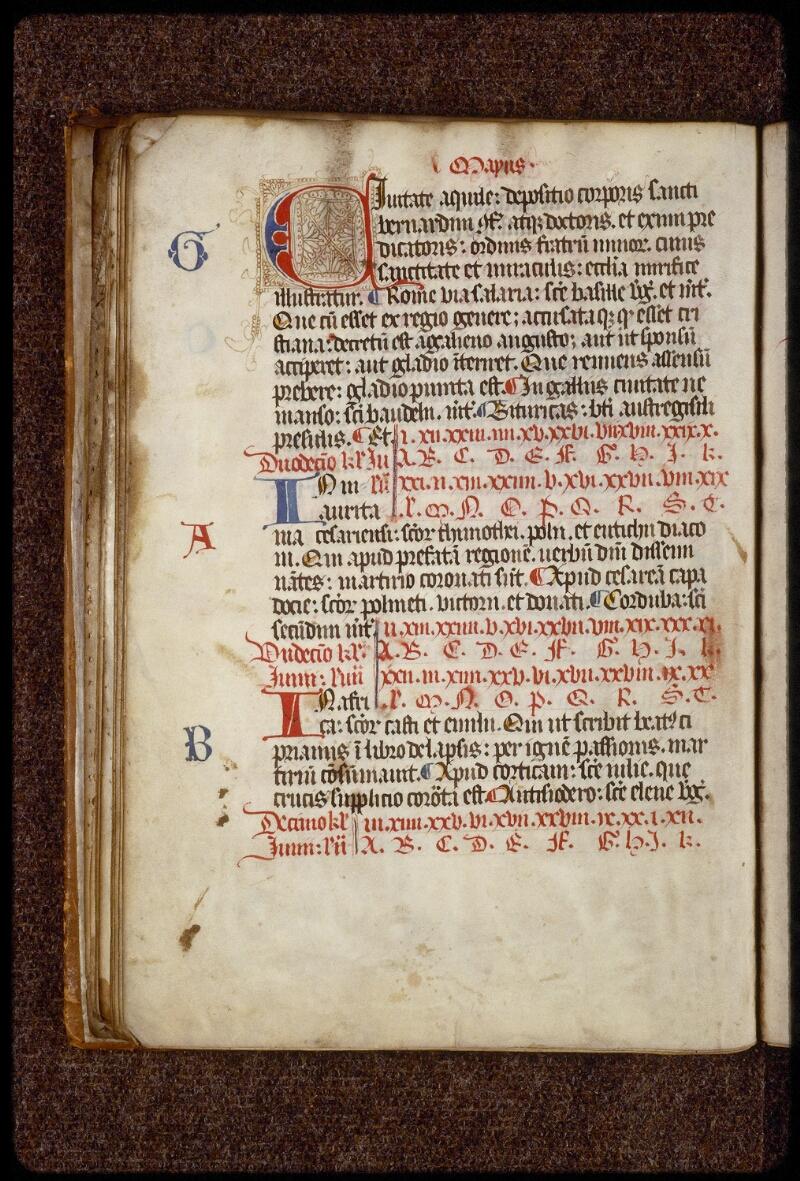 Lyon, Bibl. mun., ms. 1536, f. 028v - vue 1