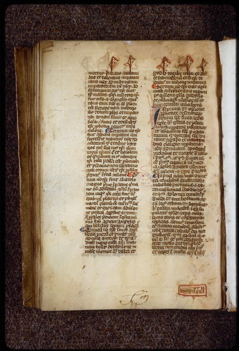 Lyon, Bibl. mun., ms. 1659, f. 106v