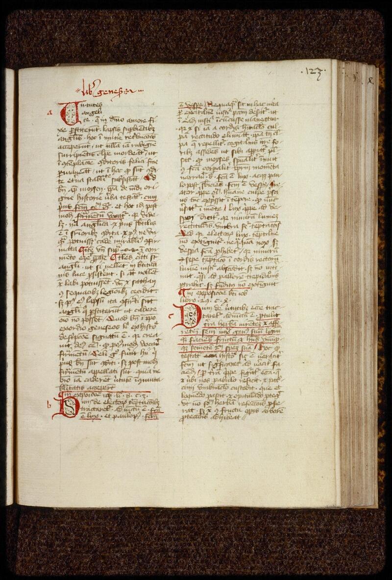 Lyon, Bibl. mun., ms. 1660, f. 123 - vue 2