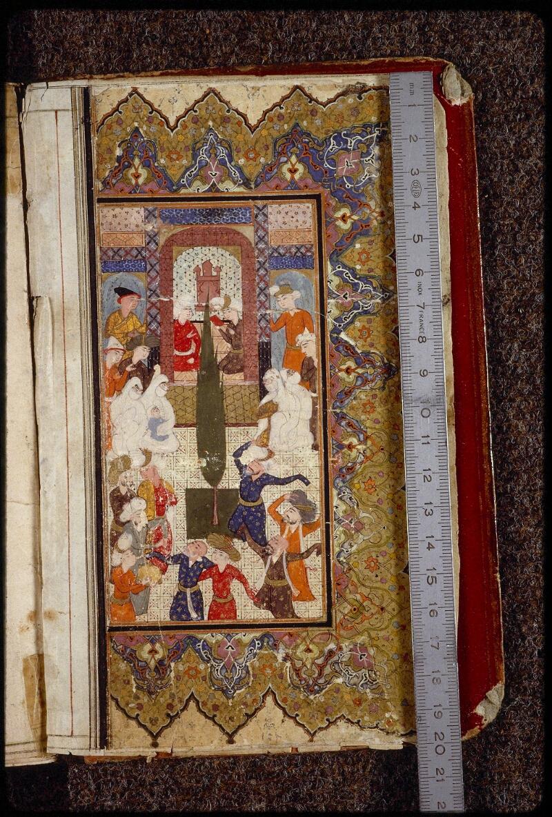 Lyon, Bibl. mun., ms. 1693, f. 001v - vue 1