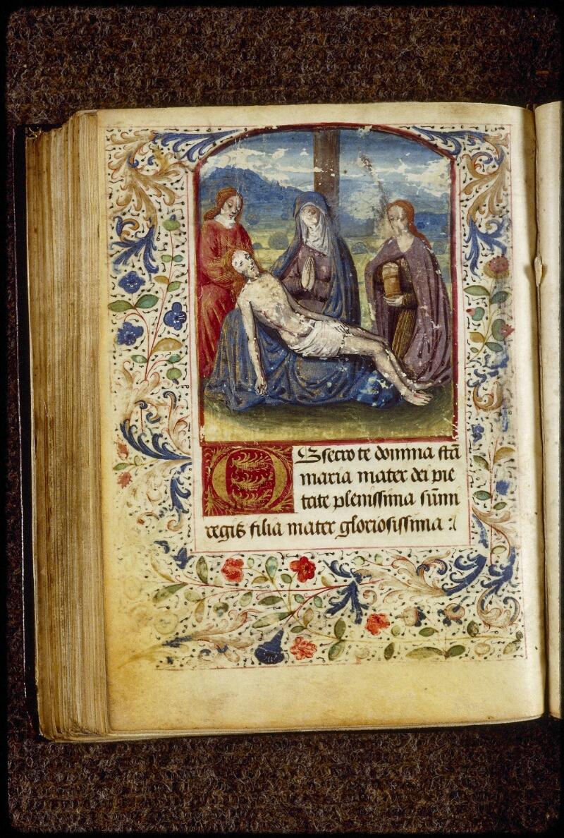 Lyon, Bibl. mun., ms. 1790, f. 129v - vue 1