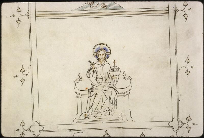 Lyon, Bibl. mun., ms. 5122, f. 142v - vue 3