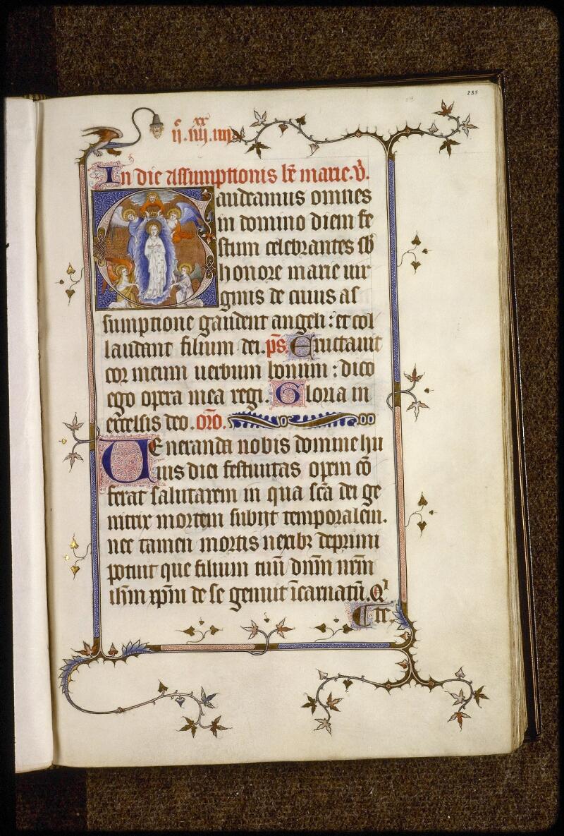 Lyon, Bibl. mun., ms. 5122, f. 285 - vue 1