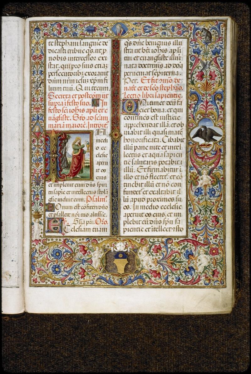 Lyon, Bibl. mun., ms. 5123, f. 023 - vue 1