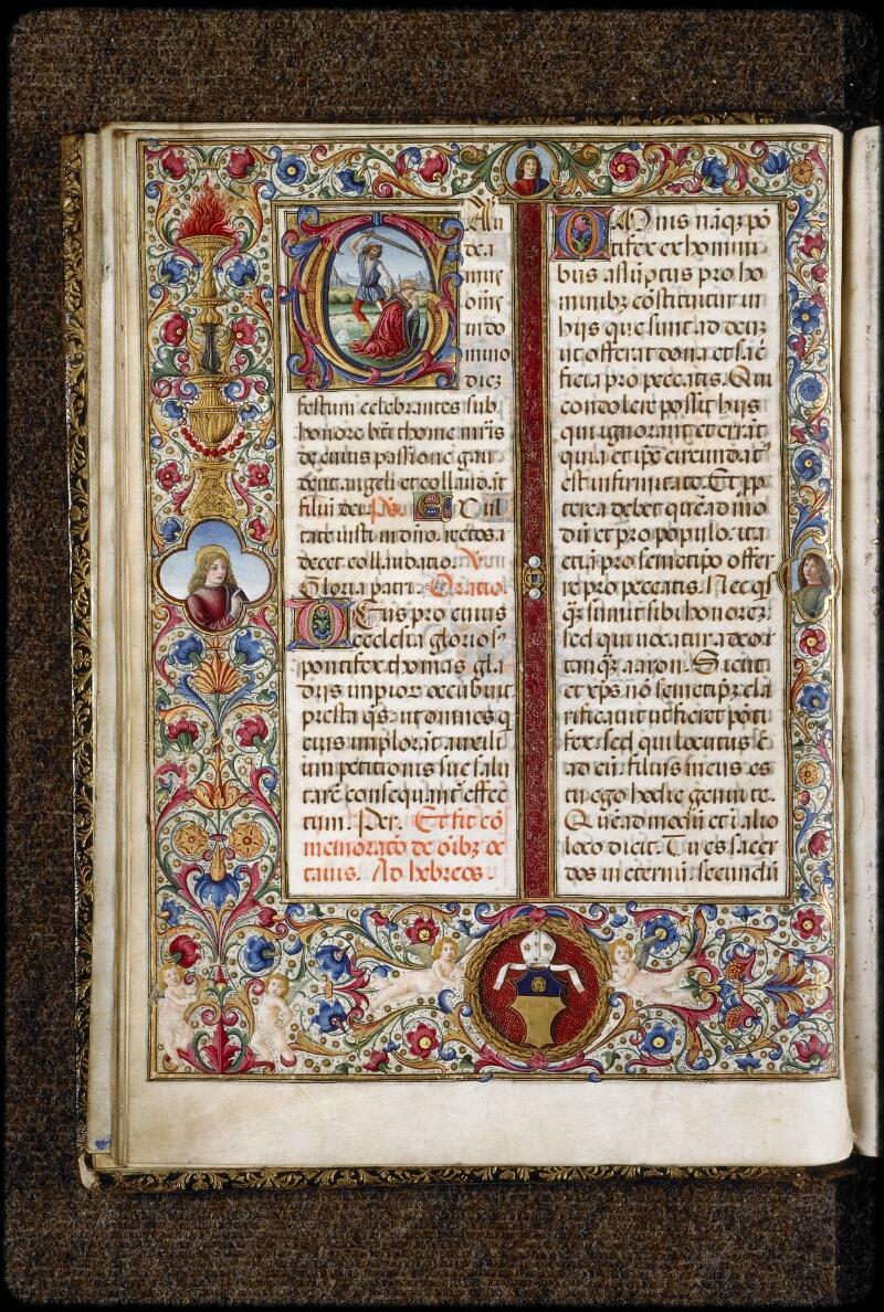 Lyon, Bibl. mun., ms. 5123, f. 025v - vue 1