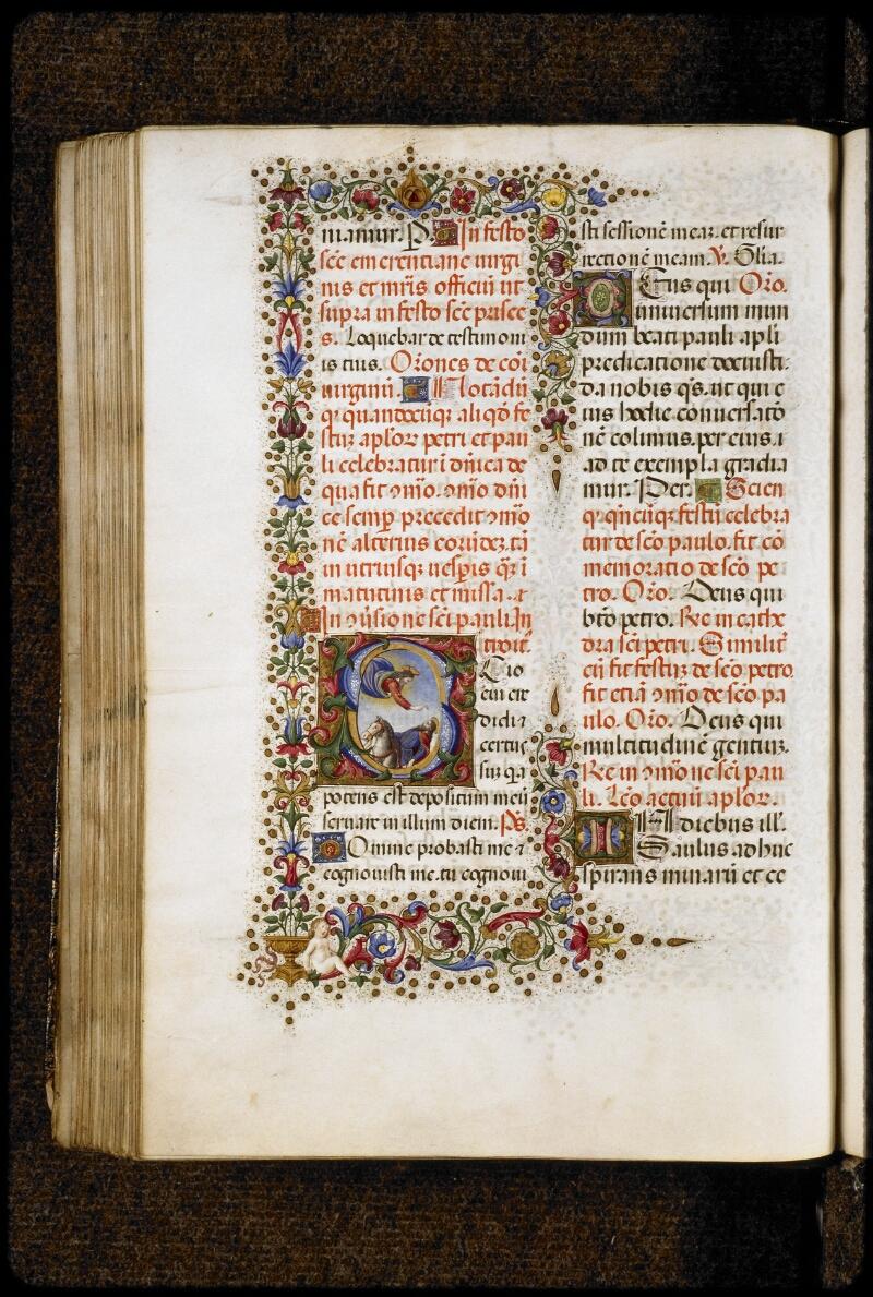 Lyon, Bibl. mun., ms. 5123, f. 287v - vue 1