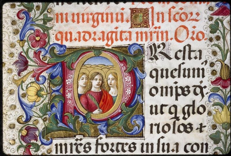 Lyon, Bibl. mun., ms. 5123, f. 296v - vue 2