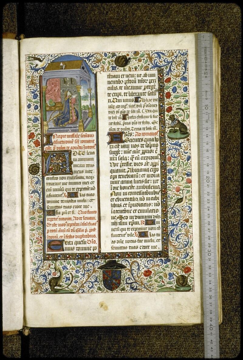 Lyon, Bibl. mun., ms. 5124, f. 008 - vue 1