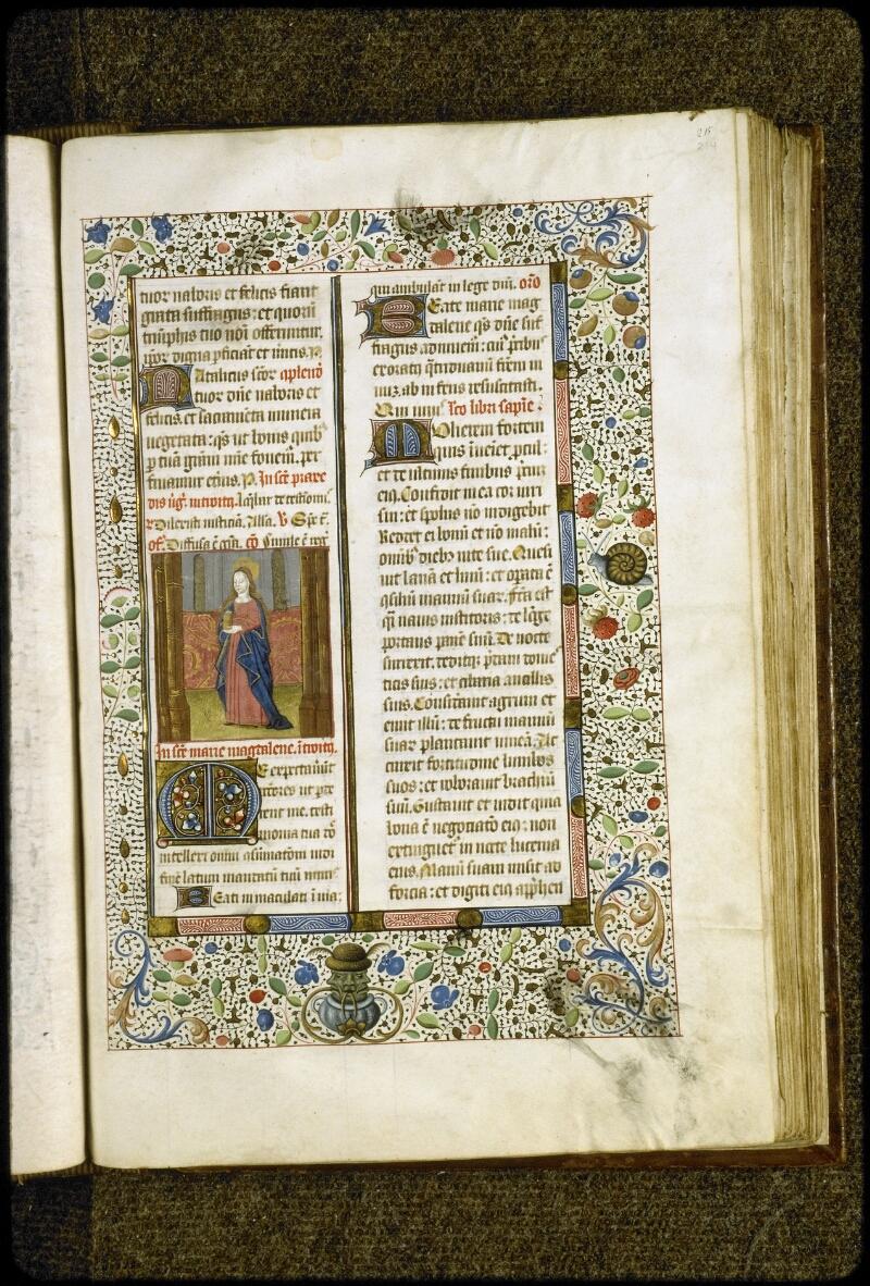 Lyon, Bibl. mun., ms. 5124, f. 214 - vue 1