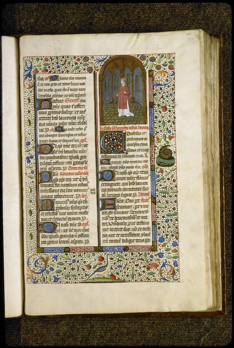 Lyon, Bibl. mun., ms. 5124, f. 224 - vue 1