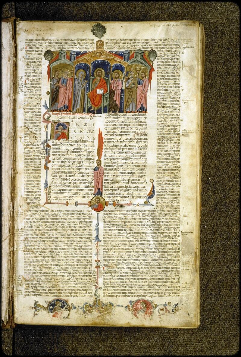 Lyon, Bibl. mun., ms. 5127, f. 001 - vue 2