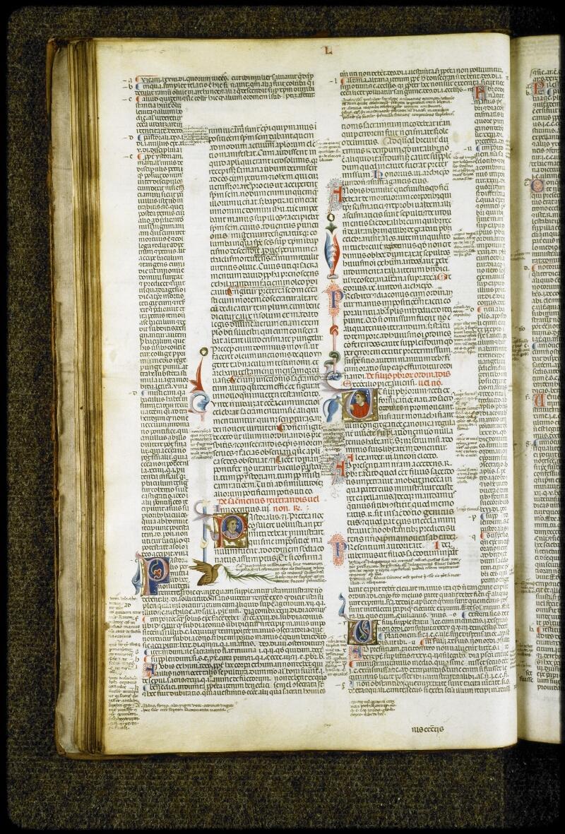 Lyon, Bibl. mun., ms. 5127, f. 042v - vue 1