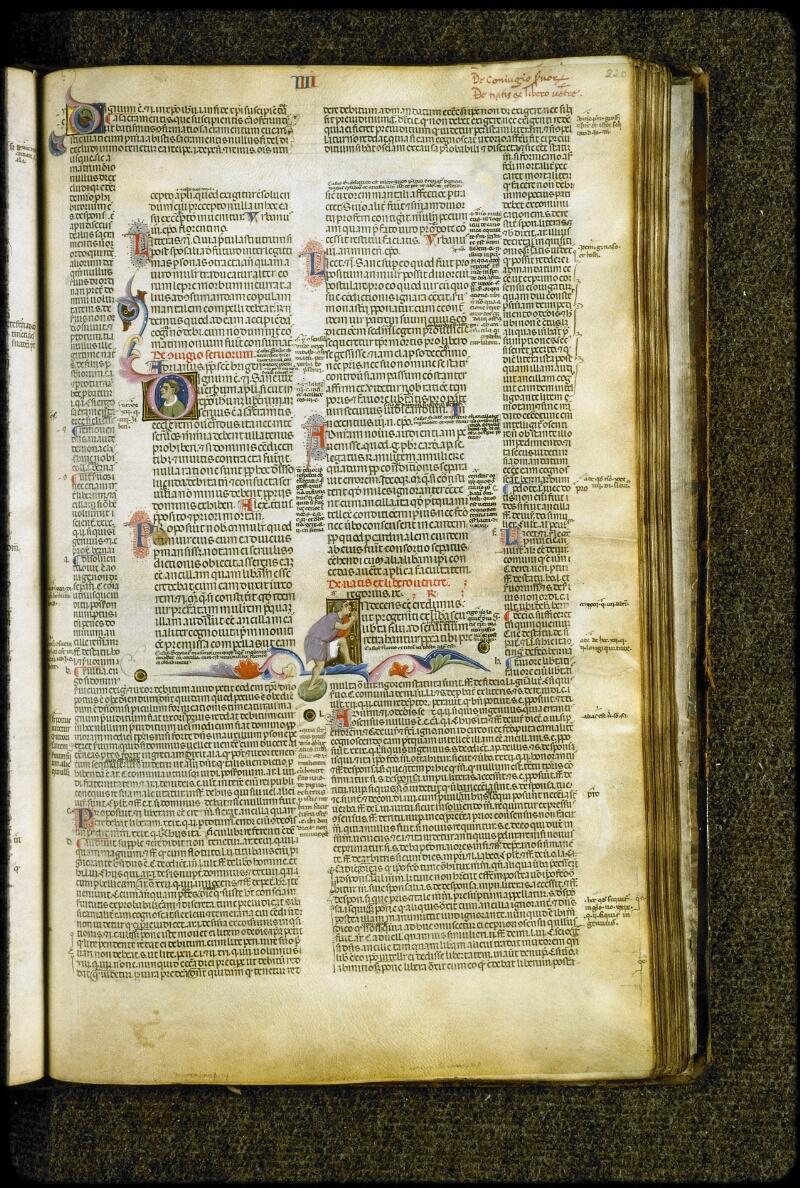 Lyon, Bibl. mun., ms. 5127, f. 220 - vue 1