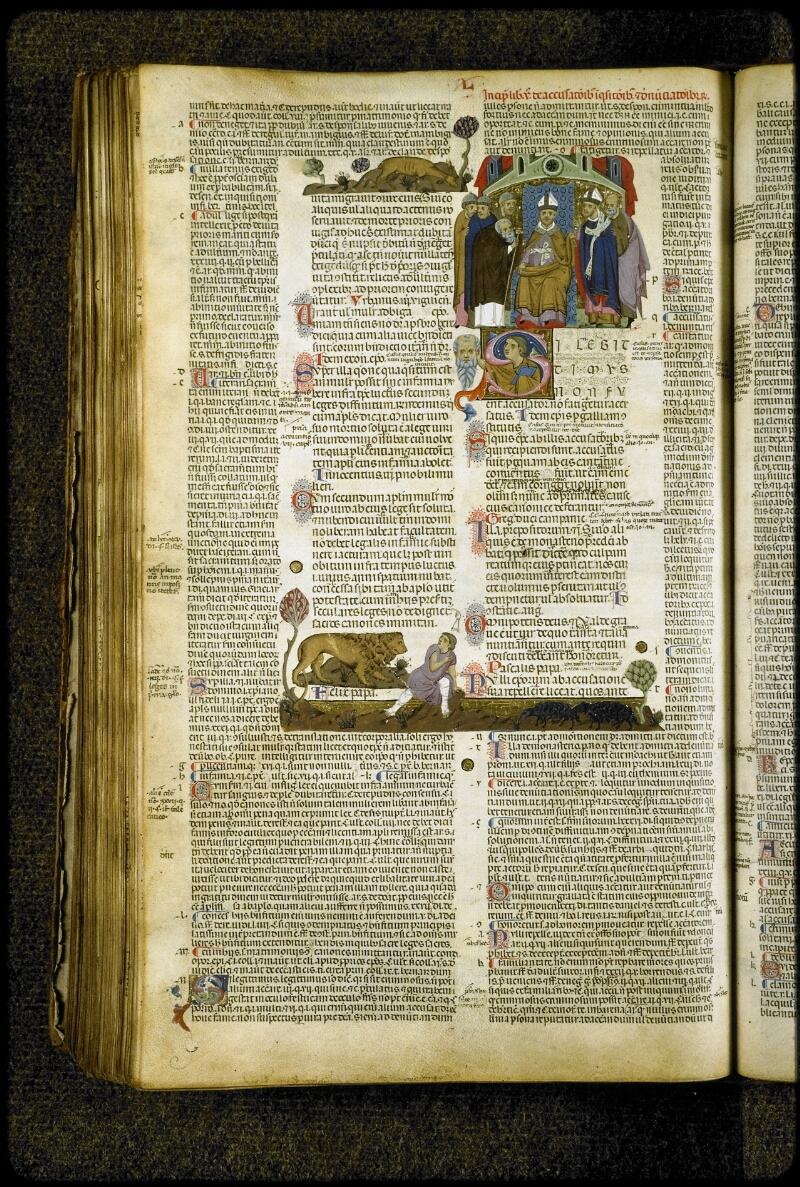 Lyon, Bibl. mun., ms. 5127, f. 231v - vue 1