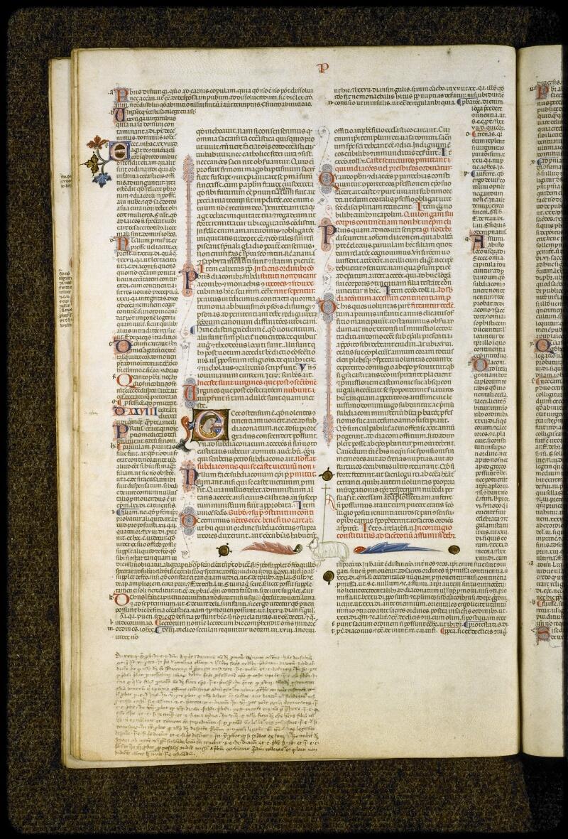Lyon, Bibl. mun., ms. 5128, f. 021v - vue 1