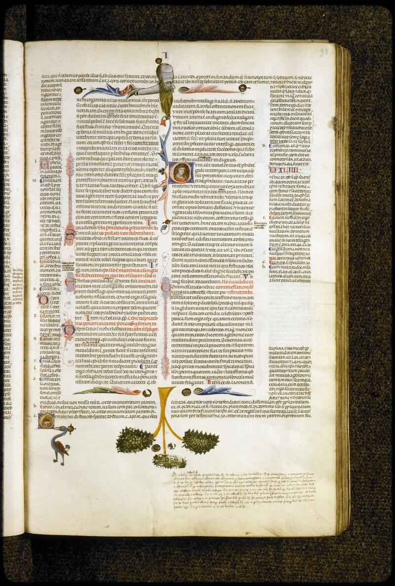 Lyon, Bibl. mun., ms. 5128, f. 033 - vue 1