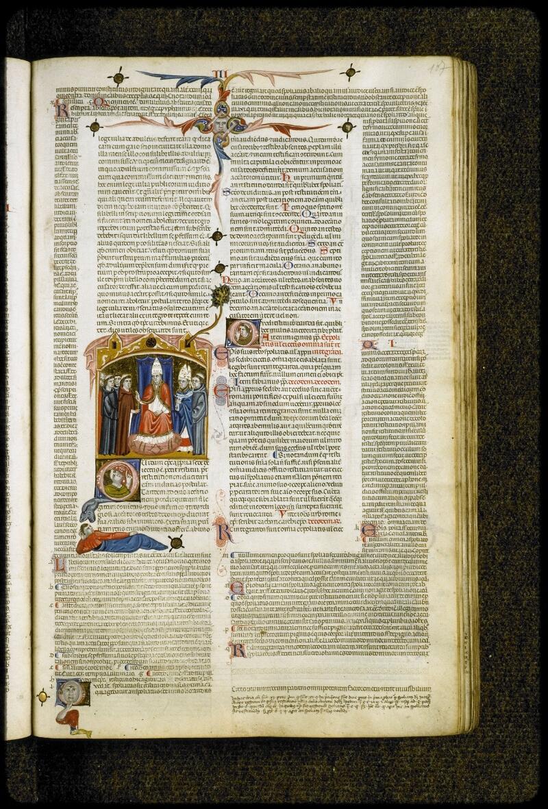 Lyon, Bibl. mun., ms. 5128, f. 107 - vue 1