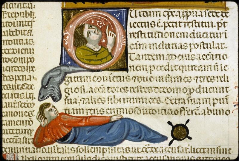 Lyon, Bibl. mun., ms. 5128, f. 107 - vue 3