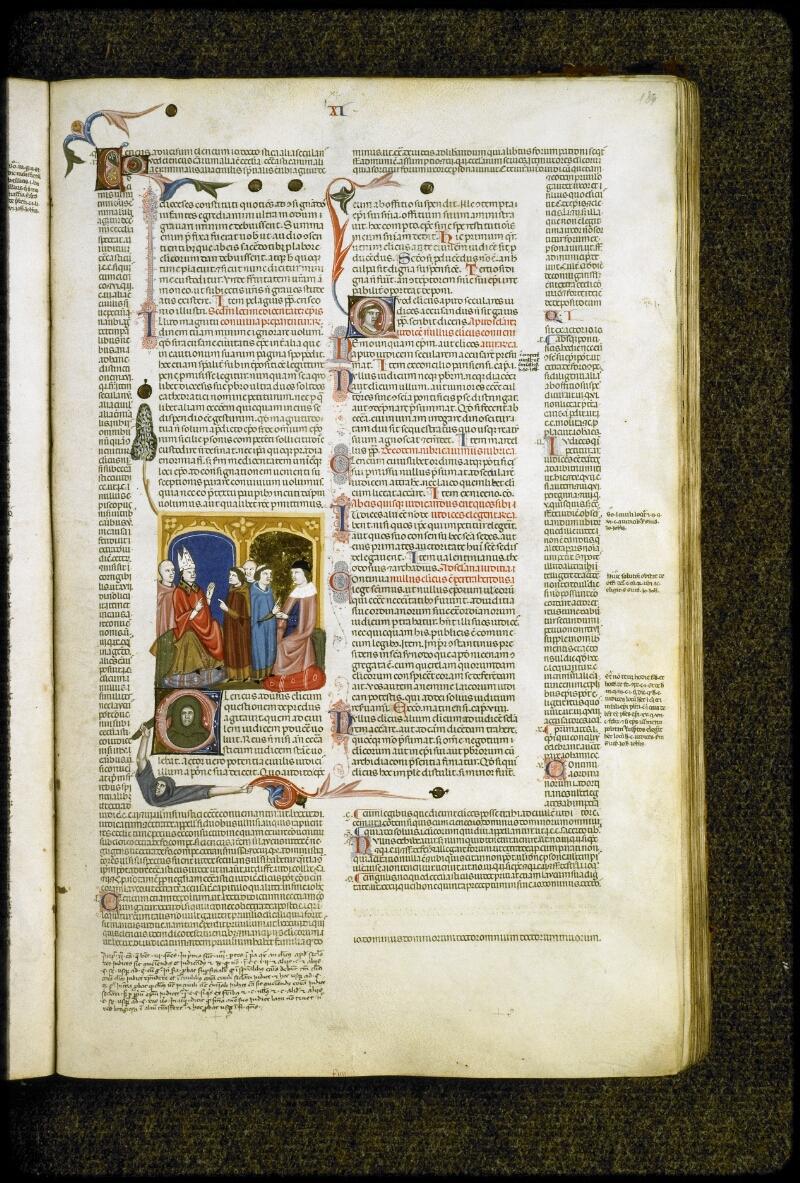 Lyon, Bibl. mun., ms. 5128, f. 134 - vue 1