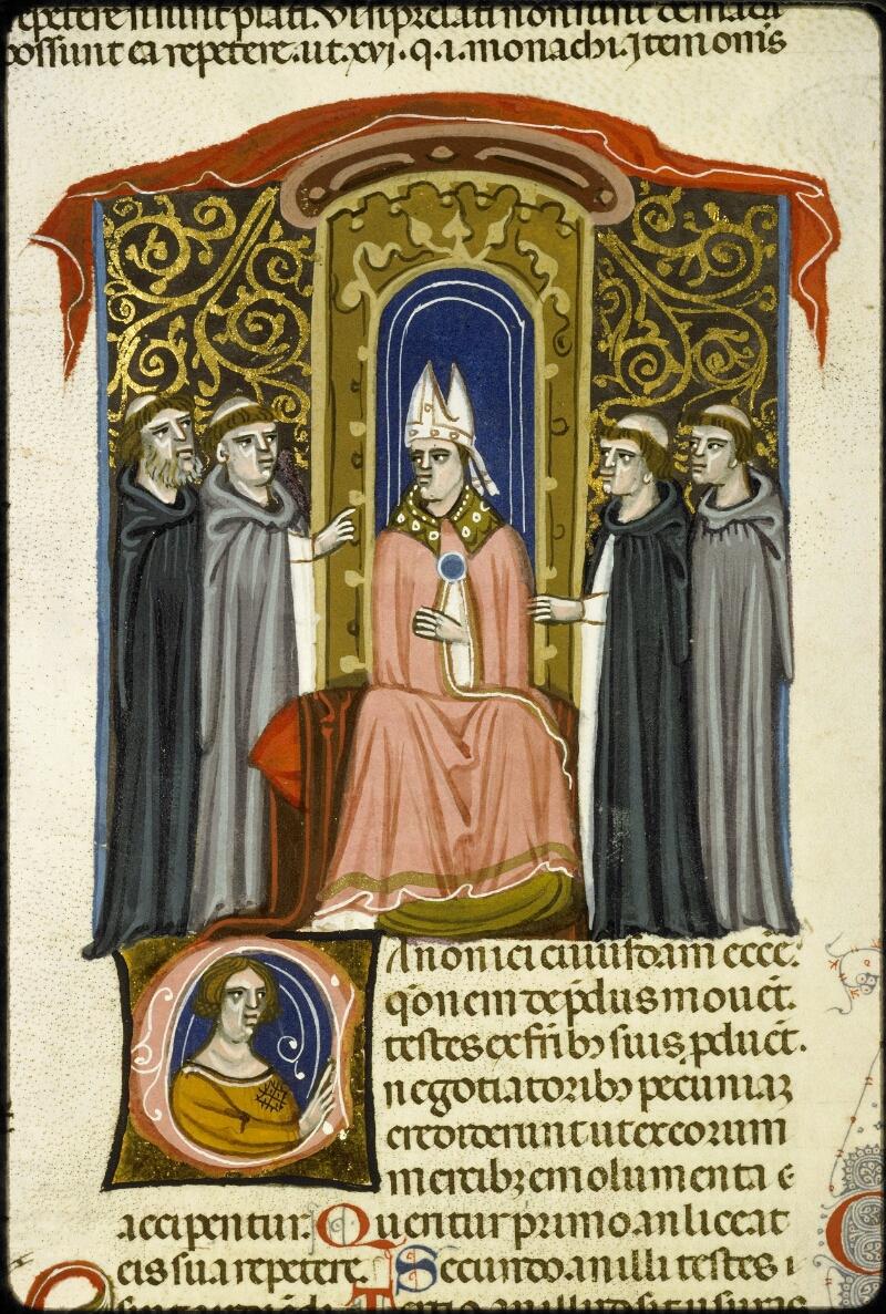 Lyon, Bibl. mun., ms. 5128, f. 156v - vue 2
