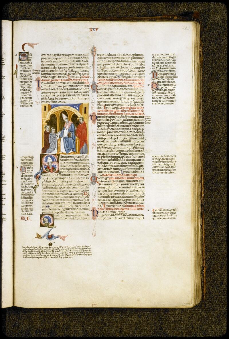 Lyon, Bibl. mun., ms. 5128, f. 223 - vue 1