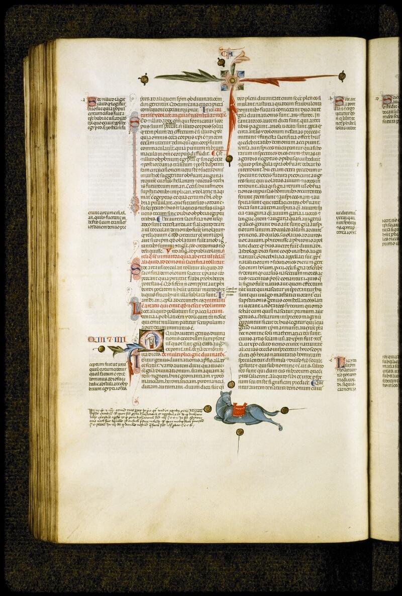 Lyon, Bibl. mun., ms. 5128, f. 227v - vue 1