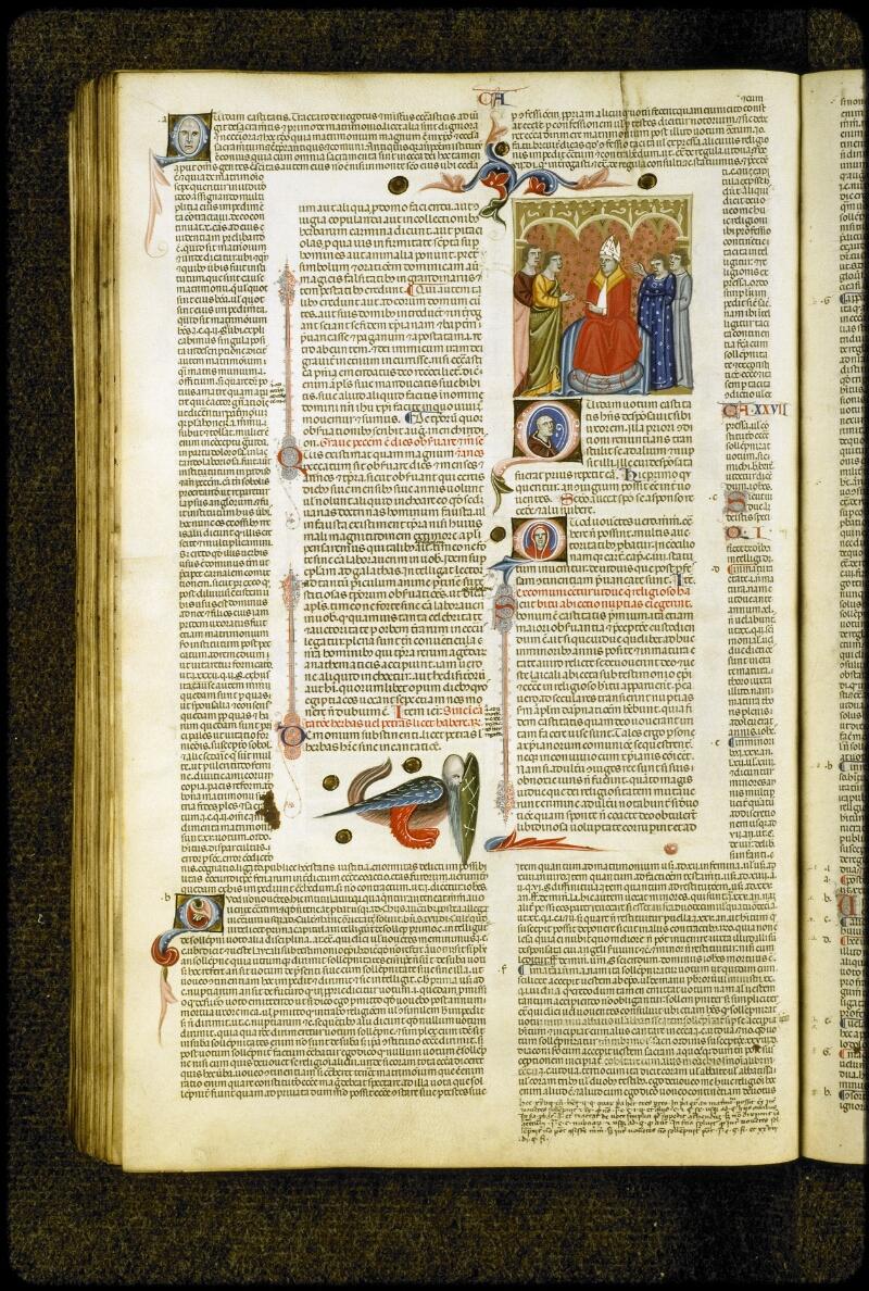 Lyon, Bibl. mun., ms. 5128, f. 232v - vue 1