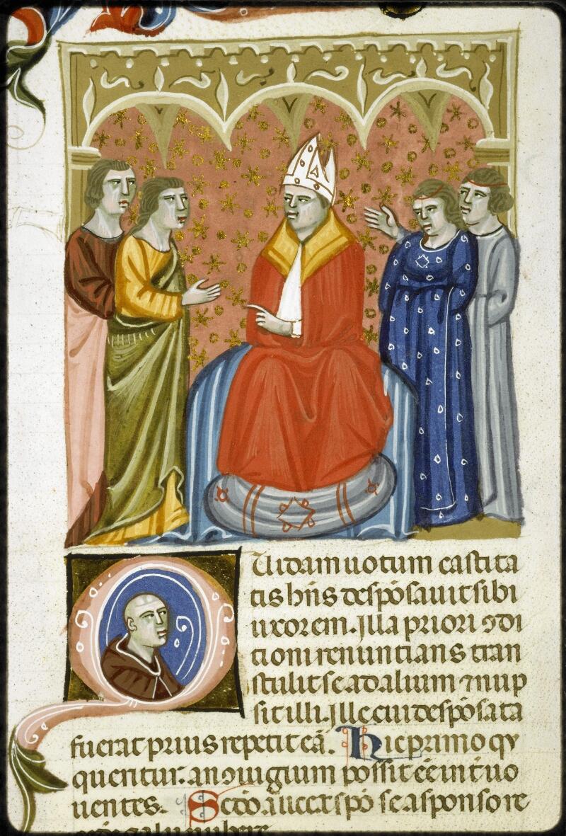 Lyon, Bibl. mun., ms. 5128, f. 232v - vue 2