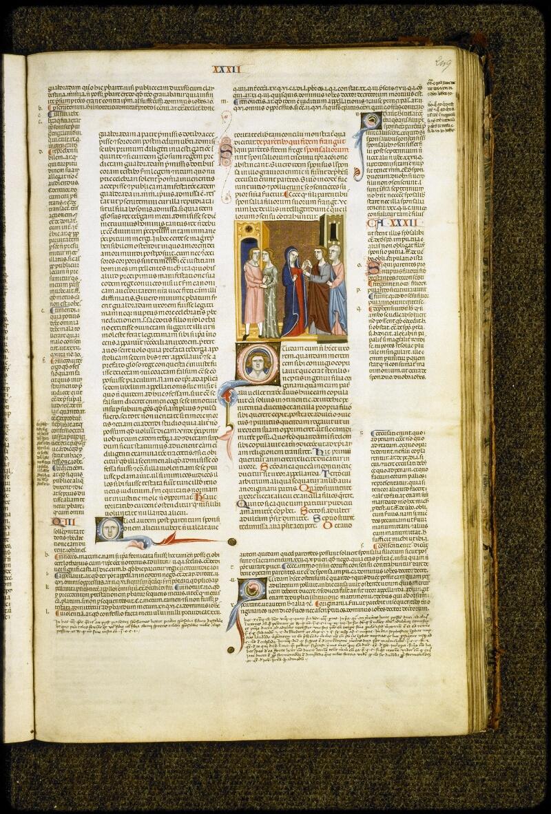 Lyon, Bibl. mun., ms. 5128, f. 249 - vue 1