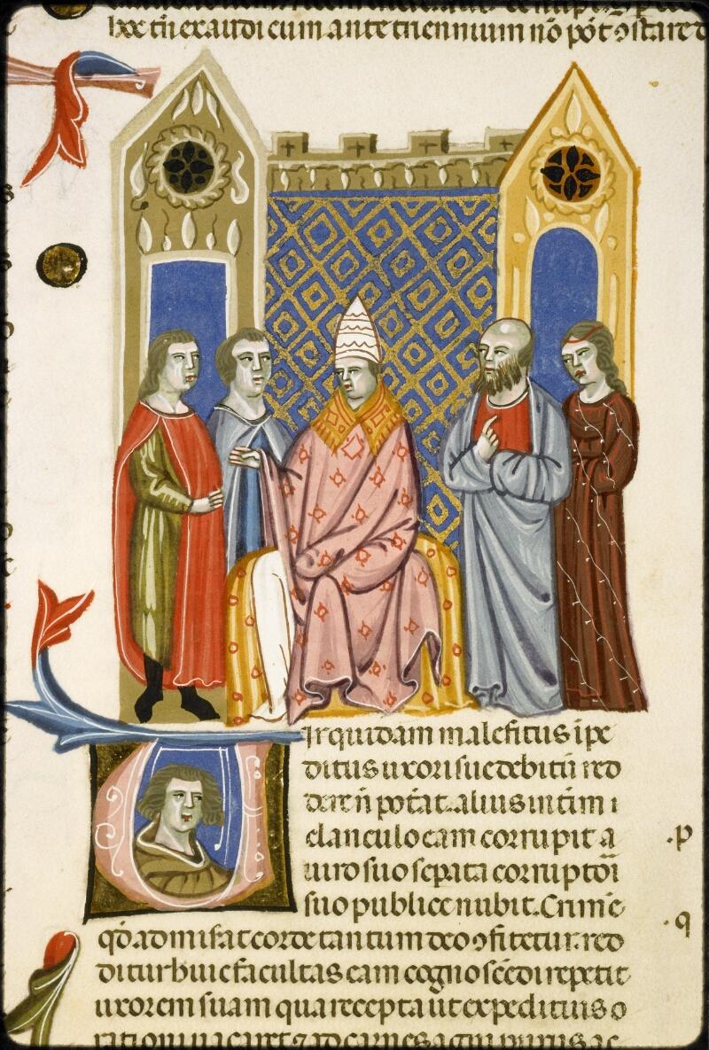 Lyon, Bibl. mun., ms. 5128, f. 256v - vue 2