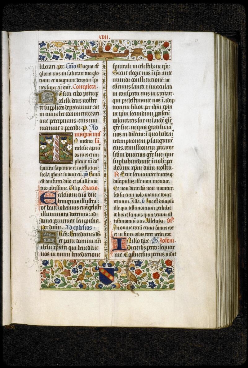Lyon, Bibl. mun., ms. 5129, f. 023 - vue 1