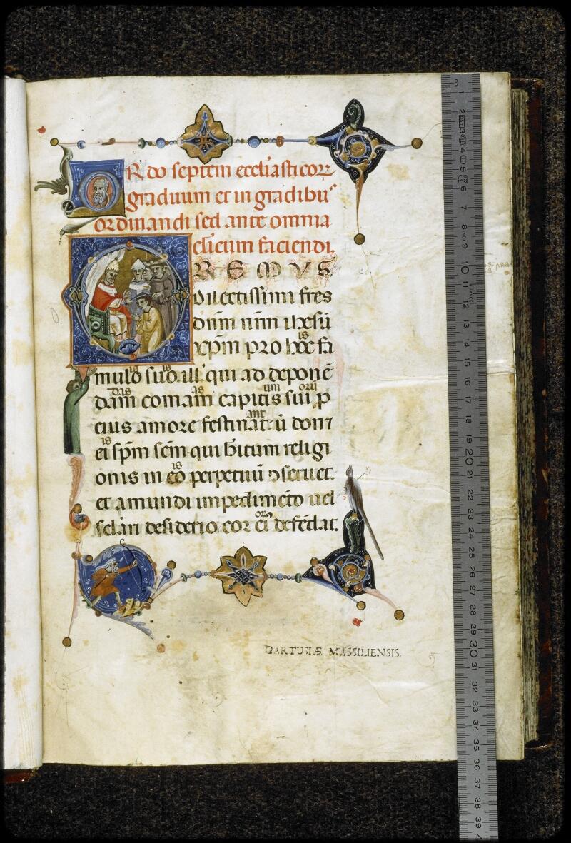Lyon, Bibl. mun., ms. 5132, f. 003 - vue 1