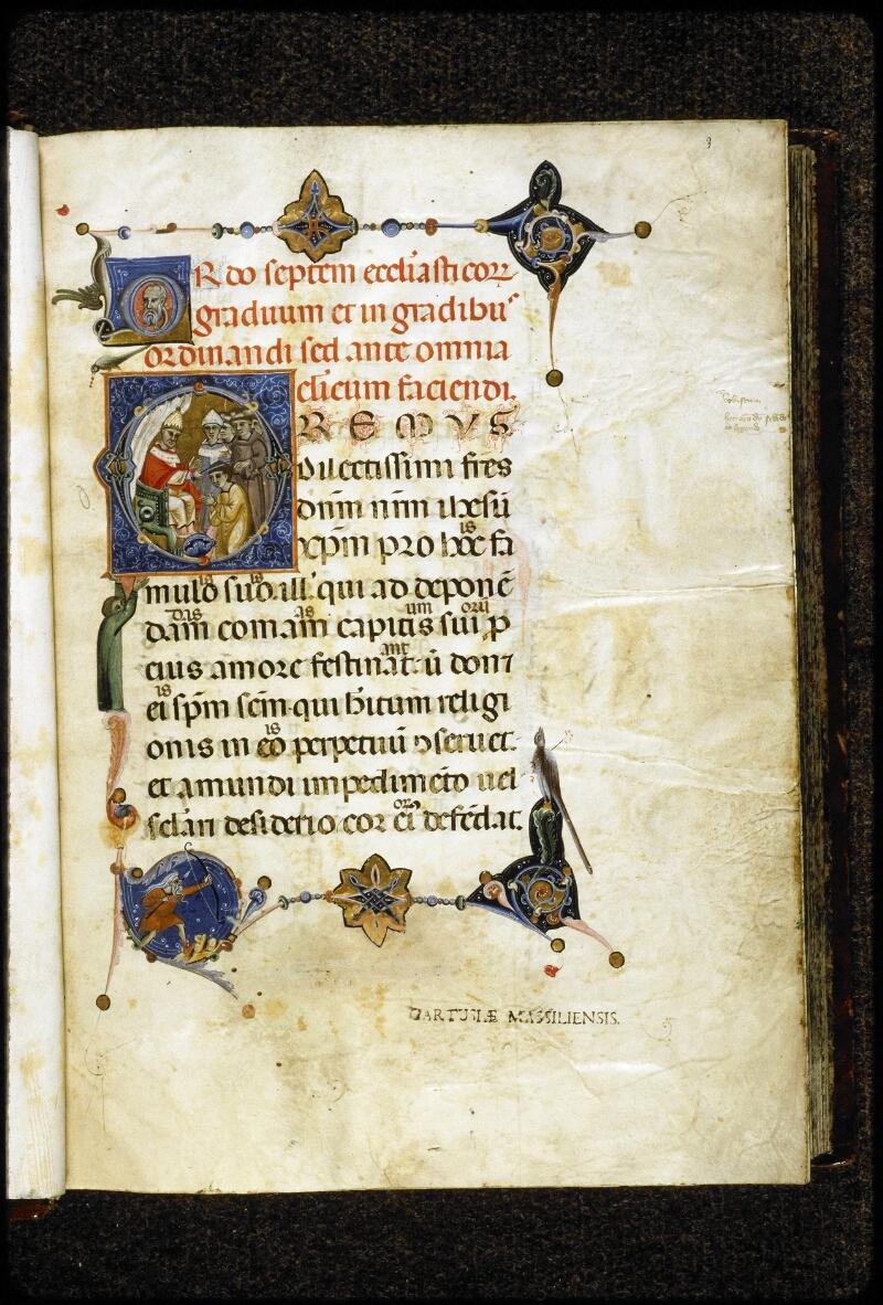 Lyon, Bibl. mun., ms. 5132, f. 003 - vue 2