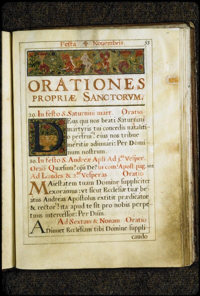 Lyon, Bibl. mun., ms. 5134, f. 038 - vue 1