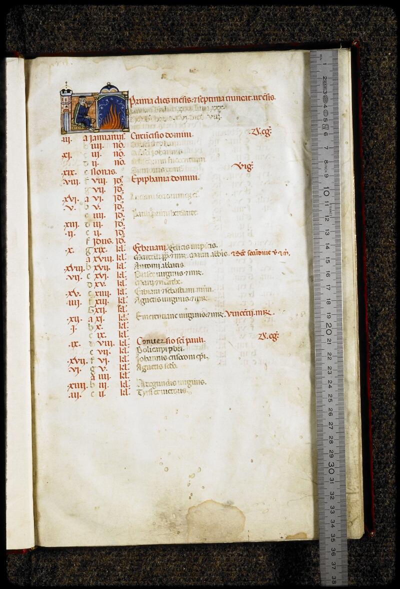 Lyon, Bibl. mun., ms. 5135, f. 003 - vue 1