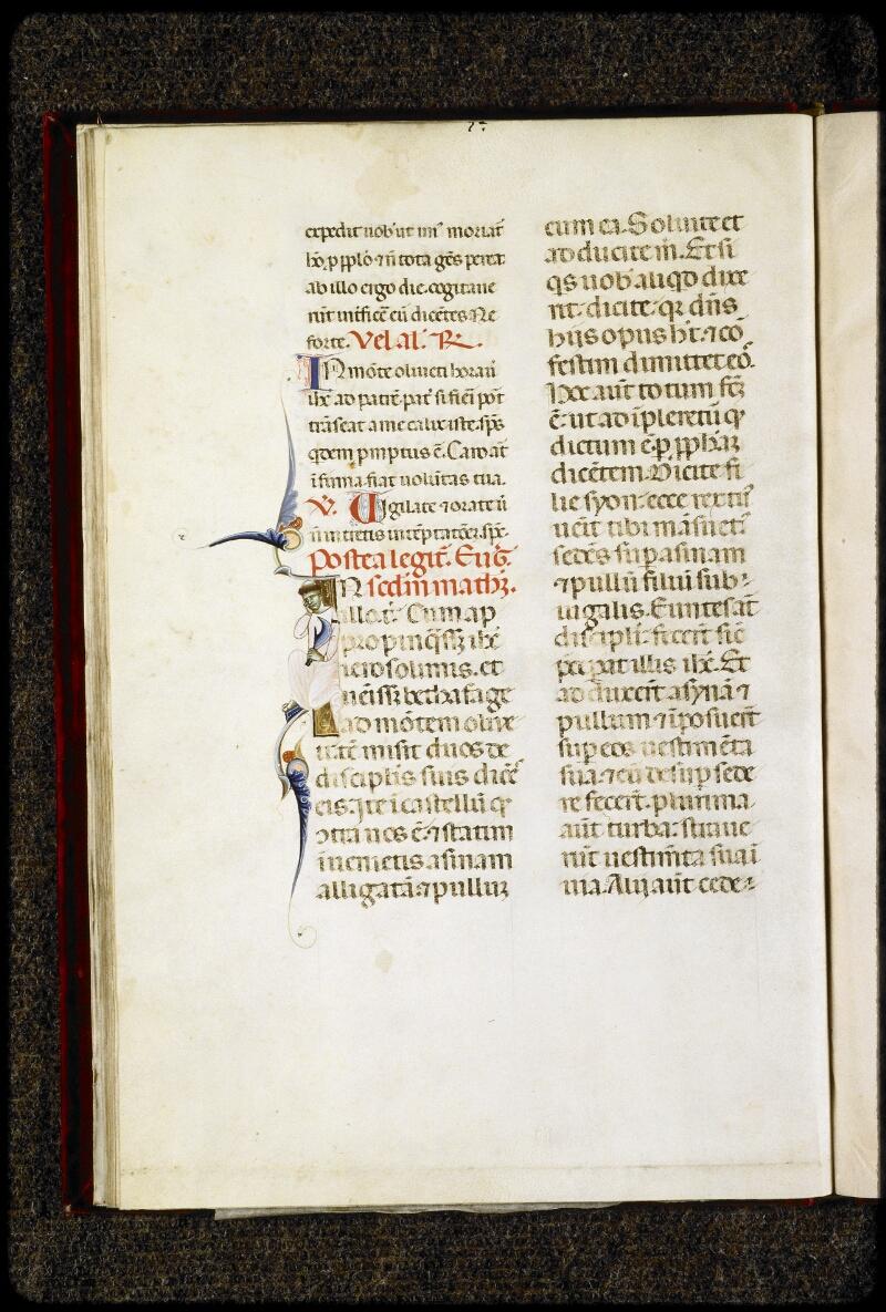 Lyon, Bibl. mun., ms. 5135, f. 011v - vue 1