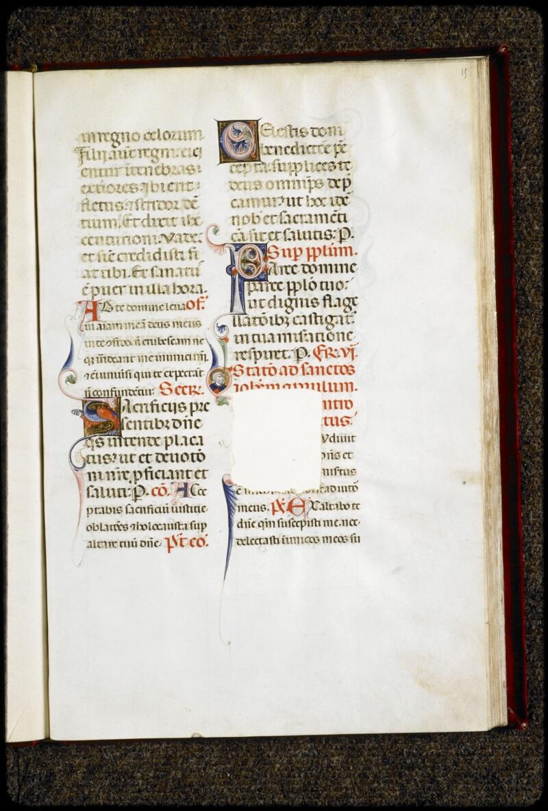 Lyon, Bibl. mun., ms. 5135, f. 015 - vue 1