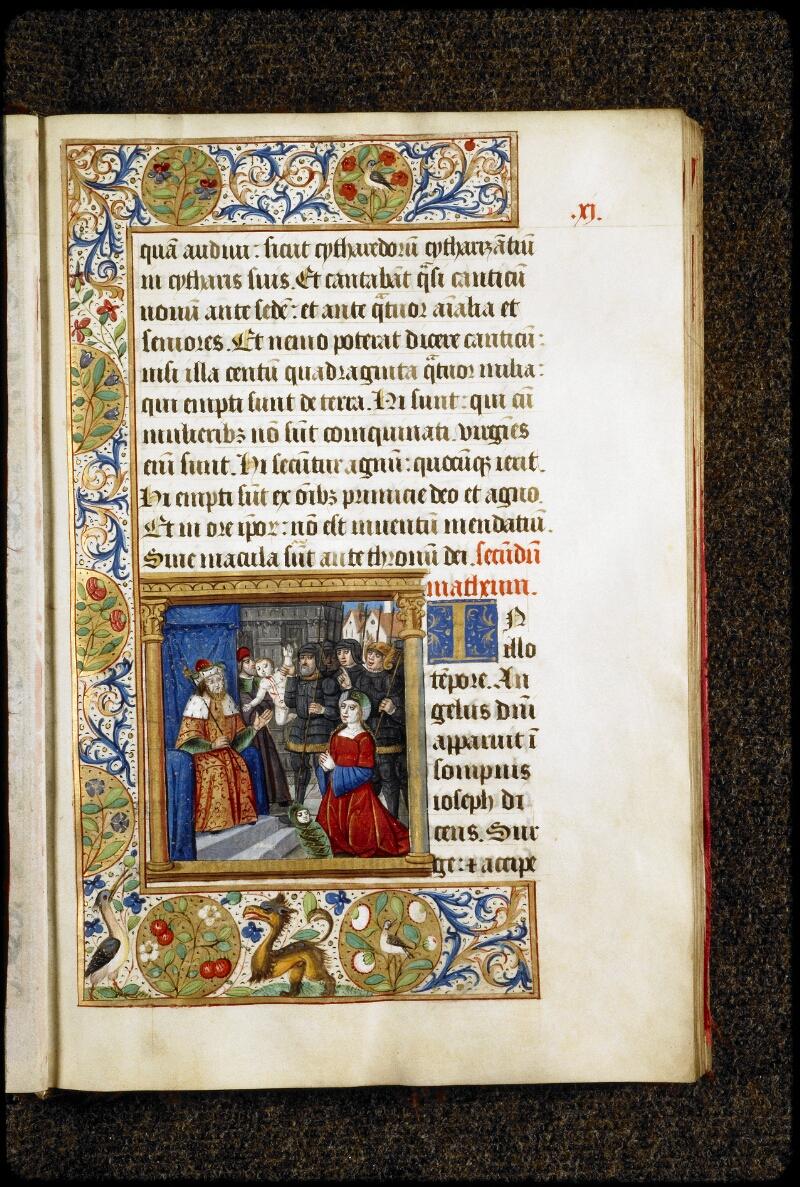 Lyon, Bibl. mun., ms. 5136, f. 011 - vue 1