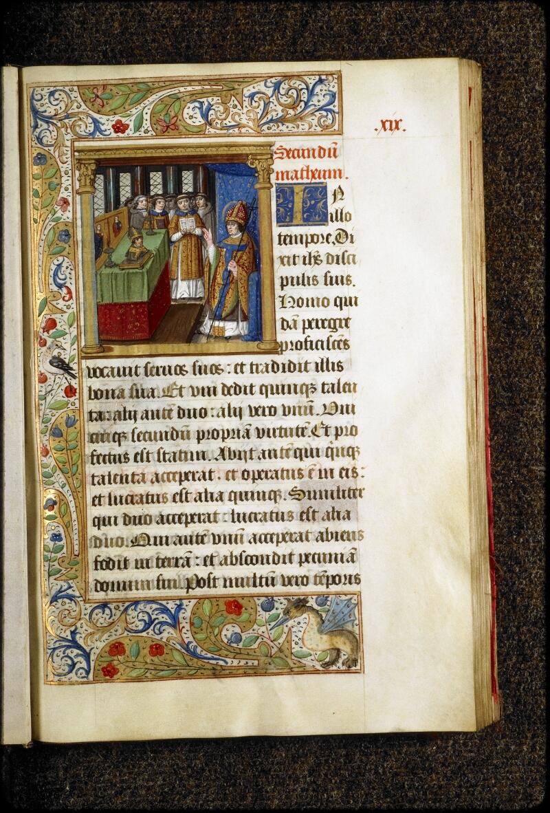 Lyon, Bibl. mun., ms. 5136, f. 019 - vue 1