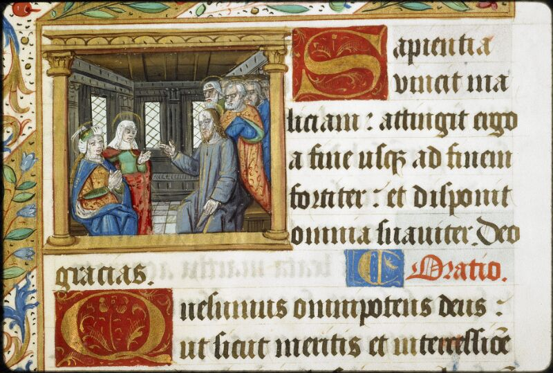 Lyon, Bibl. mun., ms. 5136, f. 100 - vue 2