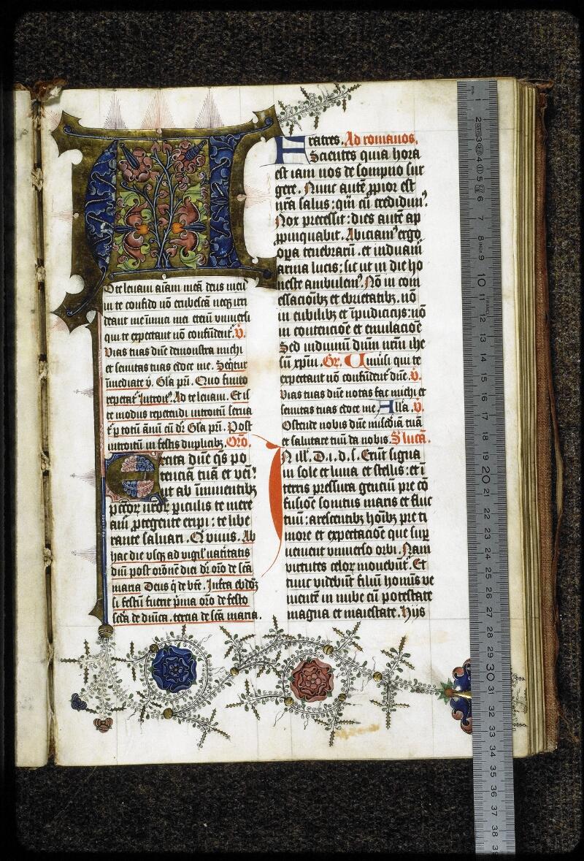 Lyon, Bibl. mun., ms. 5137, f. 002 - vue 1