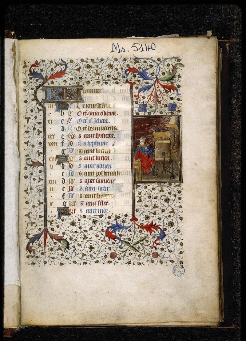 Lyon, Bibl. mun., ms. 5140, f. 002 - vue 2