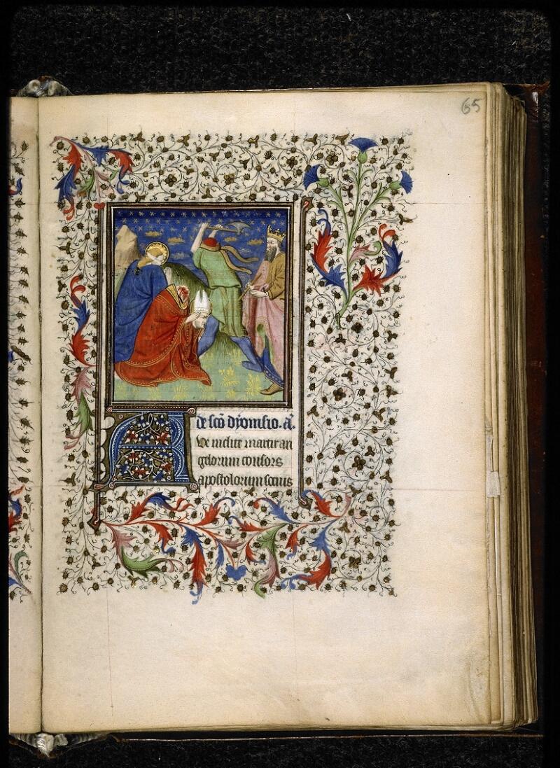 Lyon, Bibl. mun., ms. 5140, f. 065 - vue 1