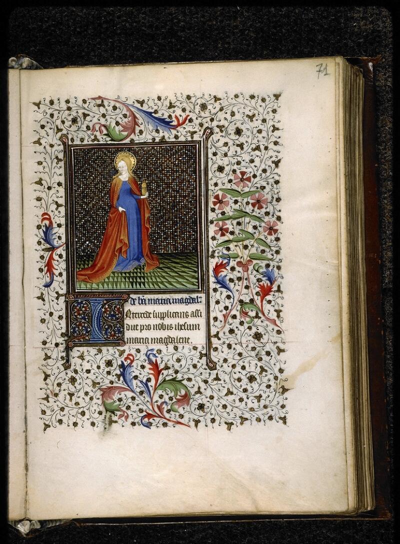 Lyon, Bibl. mun., ms. 5140, f. 071 - vue 1