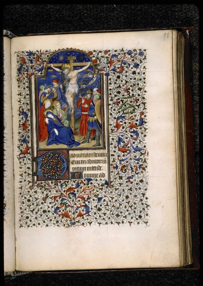 Lyon, Bibl. mun., ms. 5140, f. 098 - vue 1