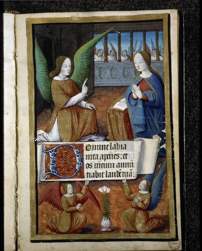 Lyon, Bibl. mun., ms. 5141, f. 025 - vue 1