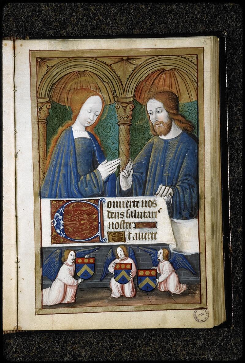 Lyon, Bibl. mun., ms. 5141, f. 075 - vue 1