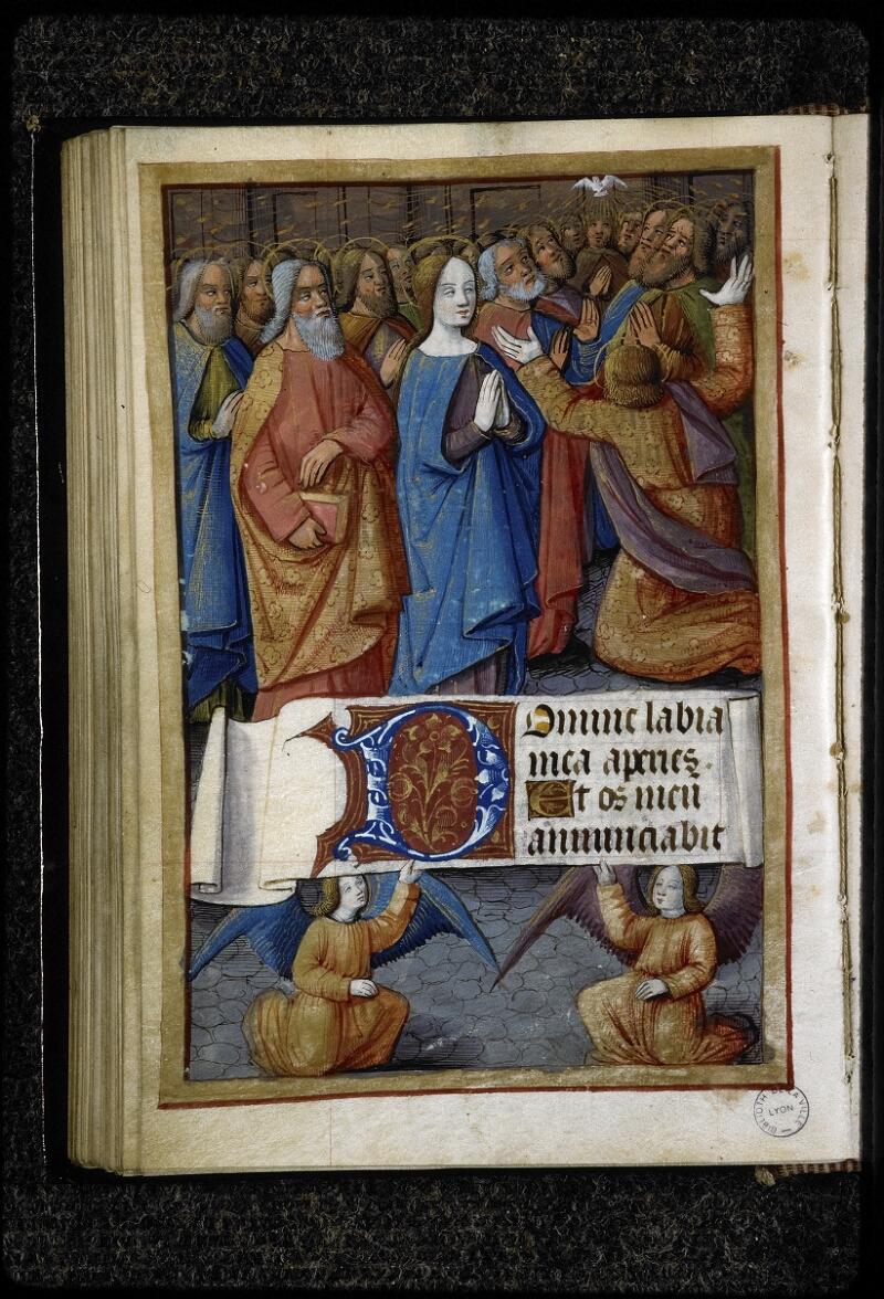 Lyon, Bibl. mun., ms. 5141, f. 084v - vue 1