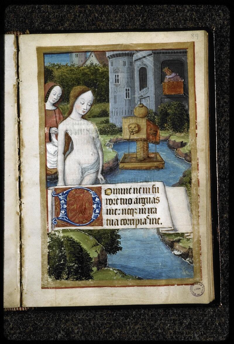 Lyon, Bibl. mun., ms. 5141, f. 089 - vue 1